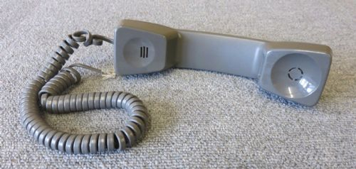 Avaya Lucent Deep Grey Replacement Telephone Handset And Curl Cord